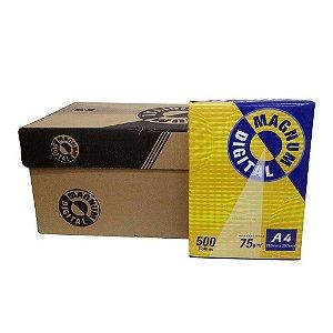 Caixa Papel Sulfite A4 Branco 500 Fls - 10 Unidades - Magnum