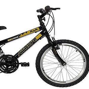 Bicicleta Aro 20 Evolution - Sem Marcha - Preta - Athor