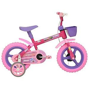 Bicicleta Infantil Aro 12 Corujinhas - Athor