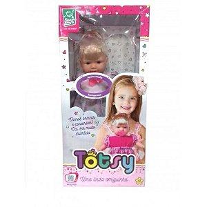 Boneca Totsy 113 Frases com Cabelo 331 - Super Toys