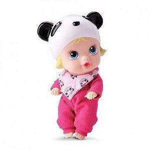 Boneca Little Dolls Soninho Faz Xixi - Panda 8019 - Divertoys