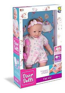 Boneca Diver Dolls Faz Xixi 8070 - Divertoys