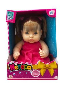 Boneca Neneca com Cabelo 393 - Super Toys