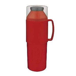 Garrafa Térmica 1 Litro Vermelha - Mor