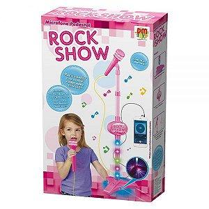 Microfone Pedestal Rock Show DMT5898 - DM Toys