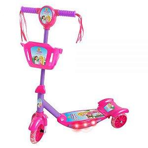 Patinete com Cesta – Sonho de Princesa DMR5621 - DM Toys
