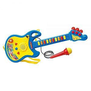 Guitarra com Microfone DMT5379 - DM Toys