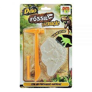 Dino Fóssil Escavação Coleção DMT5753 - DM Toys