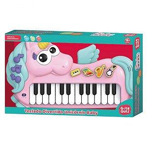 Teclado Divertido Unicórnio Baby DMB5815 - DM Toys