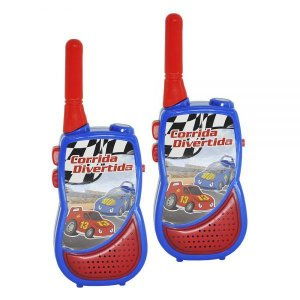 Walkie Talkie Corrida Divertida DMT5526 - DM Toys