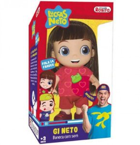 Boneca Gi Neto 1073 - Rosita