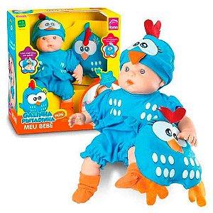 Boneca Galinha Pintadinha Mini Baby 5604 - Roma