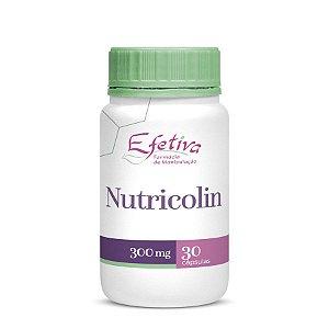 Nutricolin 300mg Cápsulas Auxilia no estímulo das Proteínas da Beleza