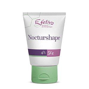 Loção Noturna com Nocturshape para combate a Celulite