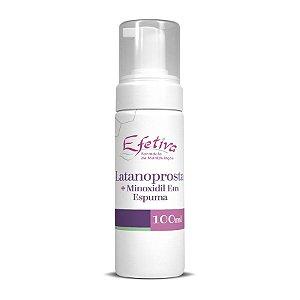 Latanoprosta Espuma Capilar 100ml com Minoxidil 5%