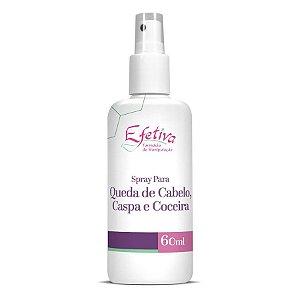Minoxidil+Auxina+Octopirox+Queratina Spray Power Queda de cabelo, caspa e coceira