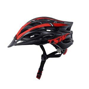 Capacete Tune Bike Ciclismo Com Viseira PTO/VRM - TSW
