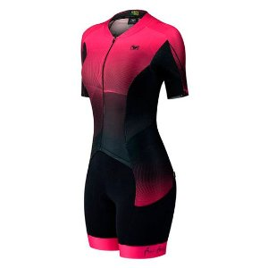 Macaquinho Ciclismo Feminino NEW CHICLET GEL - Free Force