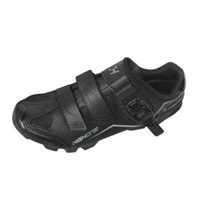 Sapatilha Ciclismo MTB Feet Velcro/Trava PTO/CZA - High One