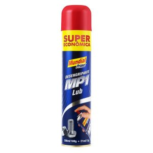 LUBRIFICANTE SPRAY MP1 MULTIUSO 321ML/193G - MUNDIAL PRIME