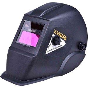 Máscara de Solda Automático com Regulagem de 9 a 13 DIN - LYNUS-MSL-500S