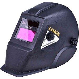 Máscara de Solda Auto Escurecimento Fixa Tonalidade 11 - LYNUS-MSL-350F