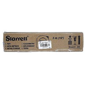 Caixa com 36 Trena 3m STS12-3ME Mm/Pol. - STARRETT