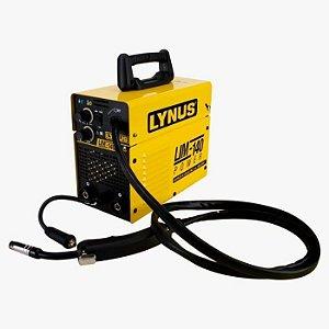 Máquina de Solda Inversora Multiprocessos MIG 140A Bivolt - LYNUS-LIM140