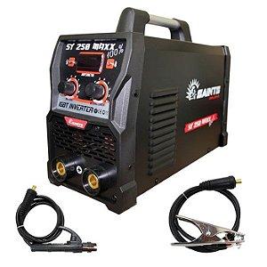 Máquina de Solda Inversora ST 250 Maxx 100% 220V - SAINTS