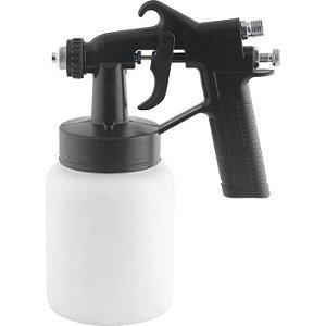 Pistola para Pintura com Caneca Plástica Ar Direto Pdv 90 - VONDER-6220090000