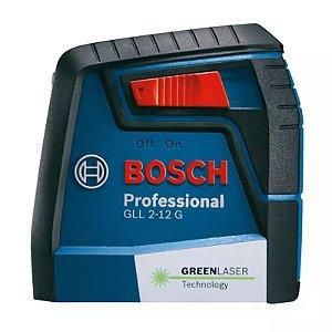 Nível a Laser de Linhas GLL 2-12 G (Linha Verde) - BOSCH-0601063VD0