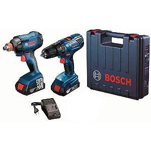 COMBO GDX 180-LI + GSB 180-LI BIVOLT MALETA PLASTICA - BOSCH063426