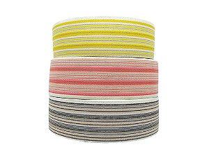 Elástico chato - poliester - 60mm (bolacha c/25mts) - elástico diagonal