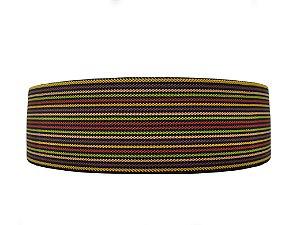 Elástico chato - poliester - 60mm (bolacha c/15mts) - elástico diagonal
