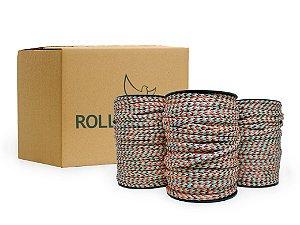 Corda redonda poliéster - rolo de 75mts - Caixas com 18 ou 36 rolos