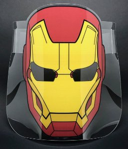 Protetor Facial adulto - Super-herói HF2