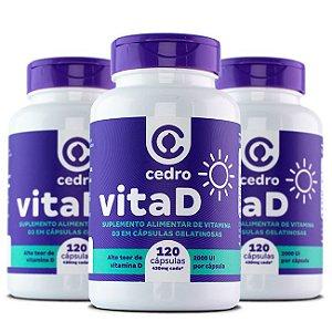 VitaD – 3 unidades
