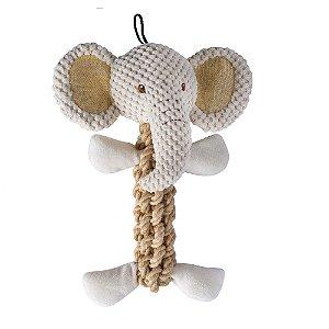 Elefante de corda- Linha cânhamo