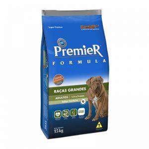 Ração Premier Formula Carne de Cordeiro para Cães Adultos de Raças Grandes e Gigantes 15kg