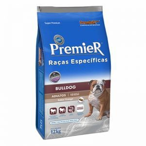 Ração Premier Pet Raças Específicas Bulldog Adulto 12kg