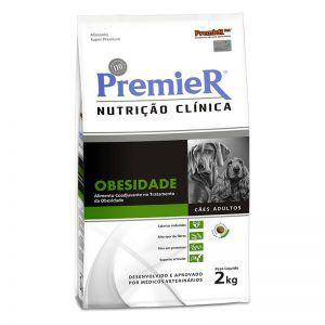 Ração Premier Nutrição Clínica para Cães Obesidade Raças Pequenas