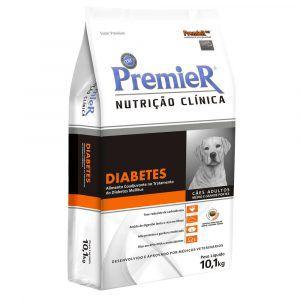 Ração Premier Pet Nutrição Clínica Diabetes para Cães Adultos Médio e Grande Portes
