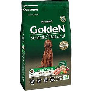 Ração Golden Premier Pet Seleção Natural para Cães Adultos