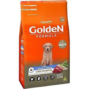 Ração Premier Golden Formula Cães Filhotes Carne e Arroz