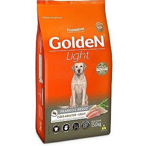 Ração Premier Golden Cães Adultos Light Frango e Arroz 15kg