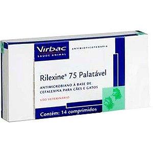 Antibiótico Virbac Rilexine Palatável para Cães e Gatos - 14 Comprimidos