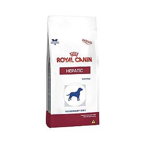 RRação Royal Canin Canine Veterinary Diet Hepatic para Cães Adultos com Problemas Hepáticos