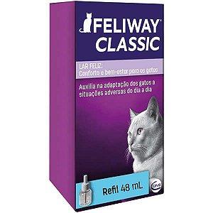 Feliway Classic Ceva Refil para Difusor Elétrico