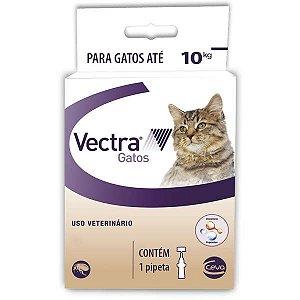 Antipulgas Ceva Vectra para Gatos até 10 Kg