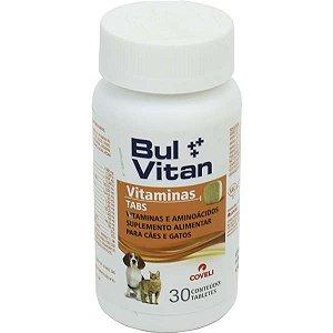 Suplemento Coveli Bulvitan Tabs - 30 Tabletes
